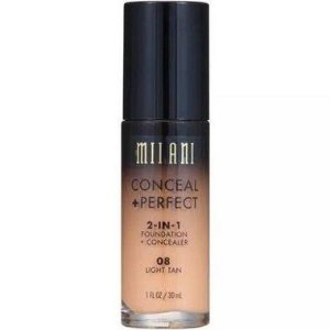 Base Milani 2-in-1 Conceal+Perfect 08 Light Tan 30ml