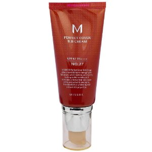 BB Cream Missha Perfect Cover 27 Honey Beige 50ml
