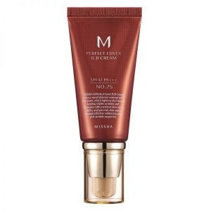 BB Cream Perfect Cover 25 Warm Beige 50ml - Missha