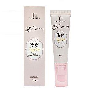 BB Cream Clareador SPF 44 Bege Médio 30g - Latika