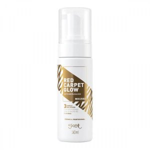 Mousse Autobronzeador Red Carpet Glow 140ml - Skelt