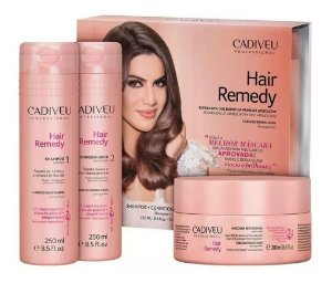 Kit Hair Remedy Home Care - Cadiveu