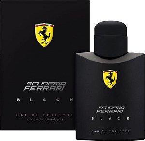 Ferrari Black Scuderia Masculino Eau De Toilette 125ml