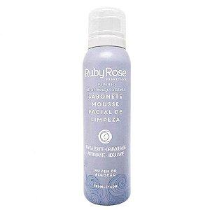 Sabonete Facial Mousse Nuvem de Algodão HB-320 150ml - Ruby Rose