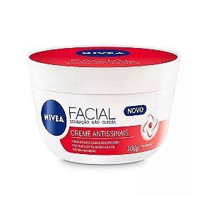 Hidratante Facial Antissinais com Vitamina E 100g - Nivea