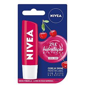Hidratante Labial Cereja Shine 24h - Nivea