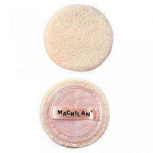 Esponja Redonda Macrilan Para Maquiagens EJ15 2 un