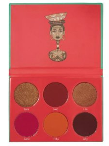 Paleta de Sombras Juvias The Saharan Blush Vol.1 27g