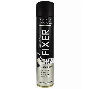 Fixador de Cabelo Extra Forte 24h - NEEZ 400ml