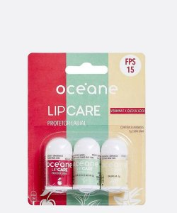 Protetor Labial Lip Care Blister 3un Océane