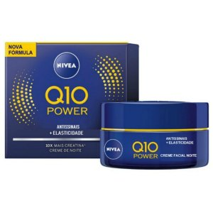 Creme Facial Noturno Antissinais Q10 Plus C 50g - Nivea