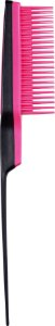 Pente Back Combing Hairbrush Black Pink - Tangle Teezer