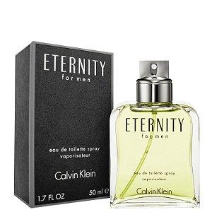 Perfume Eternity For Men Eau de Toilette 50ml - Calvin Klein