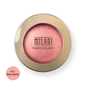 Blush Baked Powder Blush 12 Bella - Milani