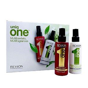 Kit Leave-In Uniq One Green Tea + Tradicional - Revlon