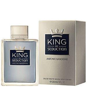 King of Seduction Masculino EDT 200ml - Antonio Banderas