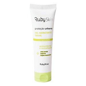 Gel Hidratante Facial Proteção Urbana HB406 50g - Ruby Rose