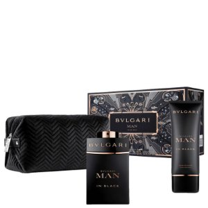Kit Bvlgari Man in Black EDP Masculino 100ml - Bvlgari