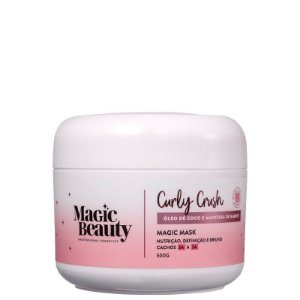 Máscara Capilar Curly Crush 2A a 3A 500g - Magic Beauty
