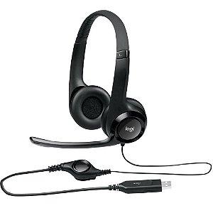 Headset Stereo USB Logitech H390