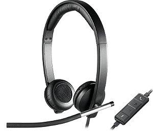 Headset USB Estéreo Logitech - H650e