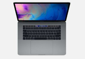 "MacBook Pro Retina Apple 15,4"", 16GB, Space Gray, SSD 256GB, Intel Core i7, 2.2 GHz, Touch Bar e Touch ID - MR932BZ/A"