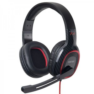 Headset Gamer 7.1 Virtual EDIFIER G20 Over-Ear - Preto