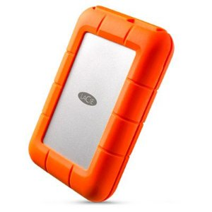 HD Externo Portátil LaCie Rugged 5TB Thunderbolt e USB-C - STFS5000800