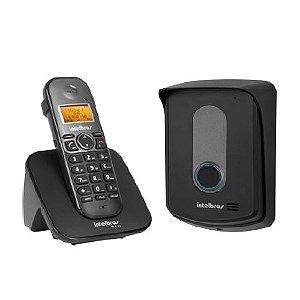 KIT Porteiro Sem Fio Tis 5010 + Fechadura Elétrica FX 2000 + Protetor P/ Interfone