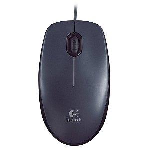 Mouse óptico USB M100 Preto Logitech