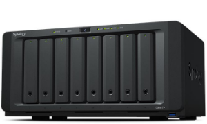 Storage NAS Synology DiskStation DS1817+(2GB) 8 Baias (expansível a 18 baias) - Sem Disco