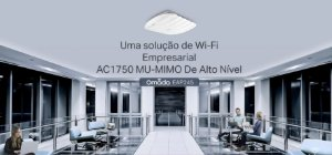Access Point Tp-link Wireless Dual Band AC 1750 Mbps Gigabit Um-mimo Montável EM Teto Eap245