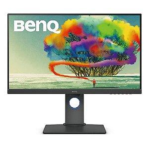 "Monitor Benq LED 27"" 4K IPS - HDMI/DisplayPort/MiniDisplayPort, Altura Ajustável - PD2700U"