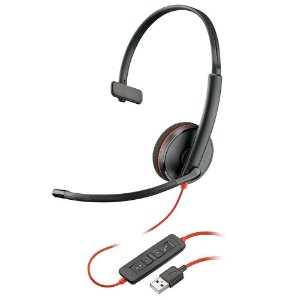 Headset Plantronics Blackwire C3210, USB - 209744-22