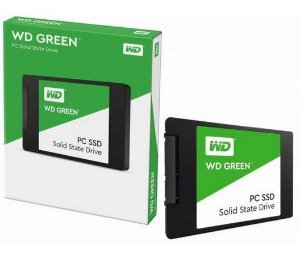 SSD WD 240gb Green Sata3 2.5 7mm - Wds240g2g0a