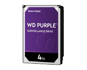 HD Interno 4tb Western Digital Purple Sataiii 64mb - Wd40purz