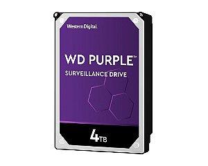 HD Interno 4tb Western Digital Purple Sataiii 64mb - Wd40purz