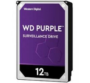HD Interno 12tb Western Digital Purple Surveillance 256mb - Wd121purz