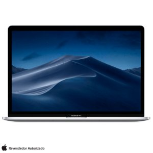 "MacBook Pro Retina Apple 13,3"", 8GB, Prata, SSD 256GB, Intel Core i5, 2.4 GHz, Touch Bar e Touch ID - MV992BZ/A"