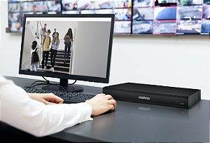 Gravador IP de 16 canais com Inteligência Artificial - SVR 7116 IA
