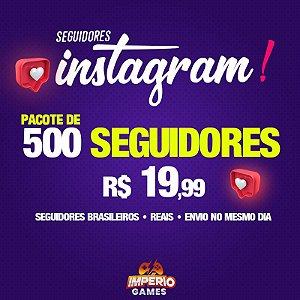 Seguidores Para Instagram - 500 seguidores