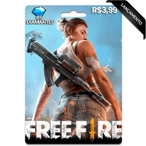 Diamantes Free Fire - 85 Diamantes