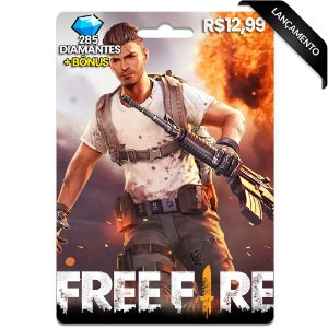 Diamantes Free Fire - 285 Diamantes
