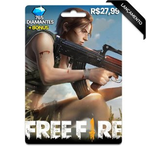 Diamantes Free Fire - 765 Diamantes