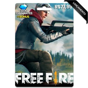 Diamantes Free Fire - 2230 Diamantes
