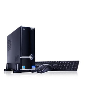 PC GigaPro Essential Intel Core i3 8GB HDD1TB Slim W10