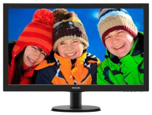 MONITOR LED PHILIPS 27 FULL HD VGA HDMI DVI 273V5LHAB