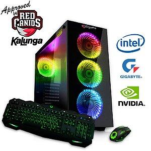 PC GigaPro Gamer Intel Core i3 8GB SSD240 DRK Nvidia GTX1650 4GB GDDR5 W10