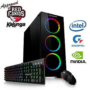 PC GigaPro Gamer Intel Core i7k 9TH 64GB SSD2TB DRK Nvidia RTX2080TI 11GB GDDR6 W10