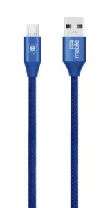 CABO MICRO USB NEW FASHION AZUL